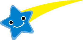 青い星の画像