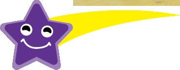 紫の星の画像
